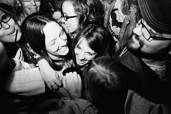 Group Hug, May, 2012