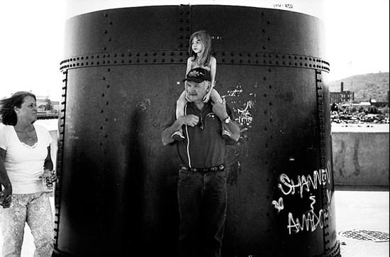 Girl on Shoulders, Duluth, Minnesota, July 2008