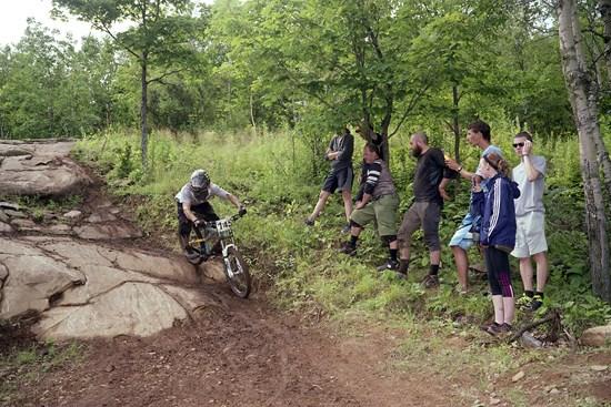 Downhill: Spectators #1