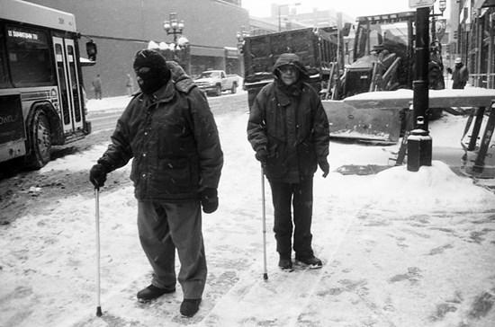 Snow Canes, Duluth, Minnesota, December 2008