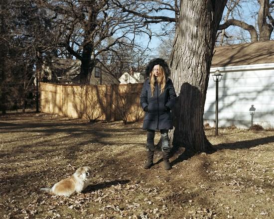 Peeka and Jennifer, Minnesota, December, 2011