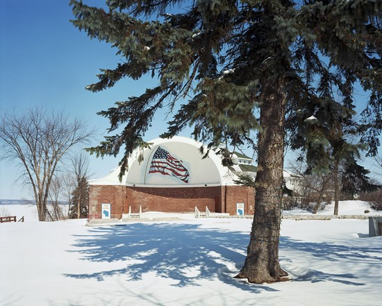 Memorial Park, Ashland, Wisconsin, March, 2014
