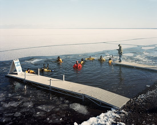 Polar Plunge Safety Crew, Duluth, Minnesota, February, 2013