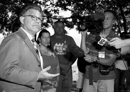 Interviewing Senator Al Franken