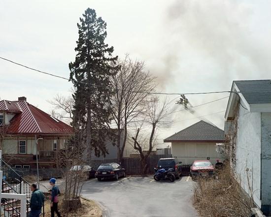 Applewood Knoll Apartment Fire, Duluth, Minnesota, April, 2015