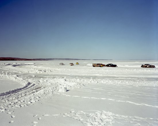 Ice Racing On Chequamegon Bay, Ashland, Wisconsin, March, 2013
