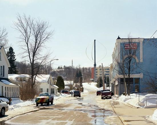Wind Turbine, Ishpeming, Michigan, March, 2014