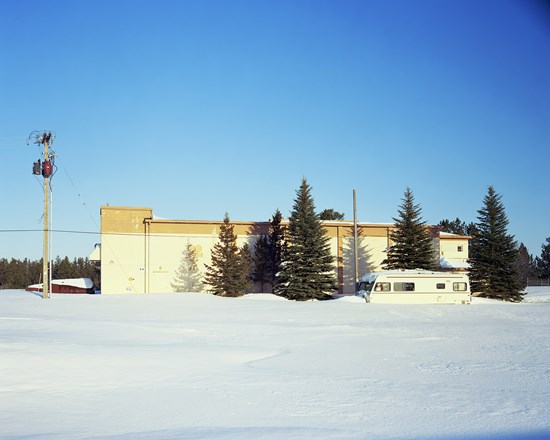 Theater, K.I.Sawyer AFB, Michigan, March, 2014