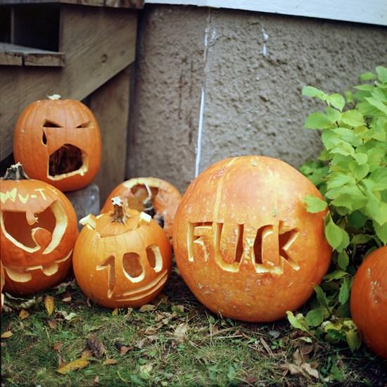 Fuck Pumpkin, Duluth, Minnesota, October 2015