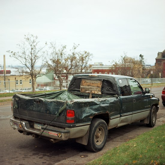 A Very Well Used Truck, Duluth, Minnesota, October 2015