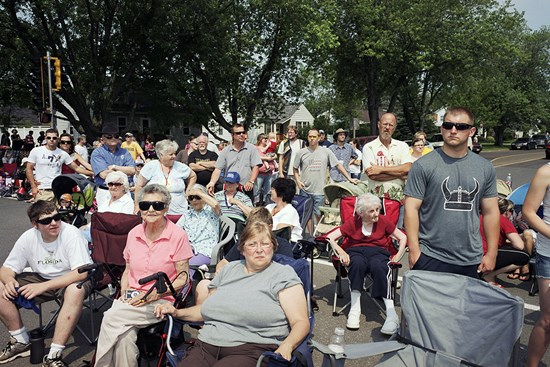 Crowd, 4th of July Parade, Superior, Wisconsin, July, 2012