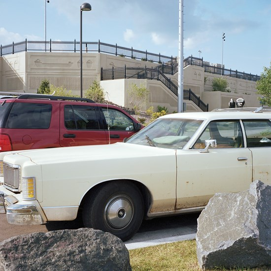 Station Wagon, Canal Park, Duluth, Minnesota, August, 2013