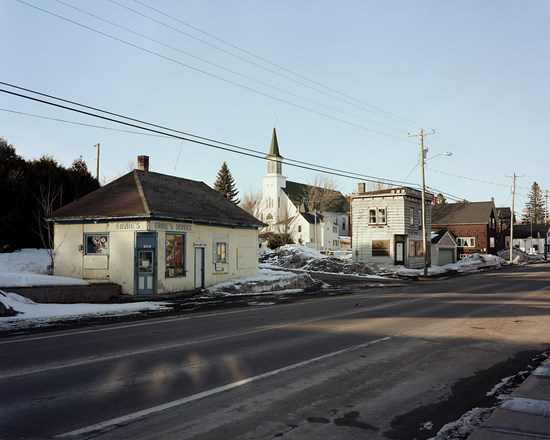 Duncan Ave, Hubbel, Michigan, March, 2015
