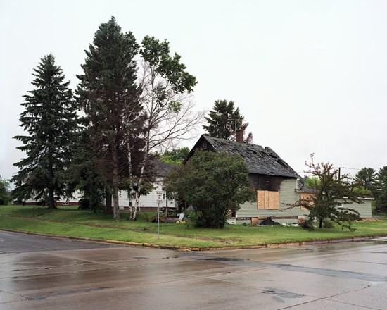 House Fire, Ashland, Wisconsin, July, 2013