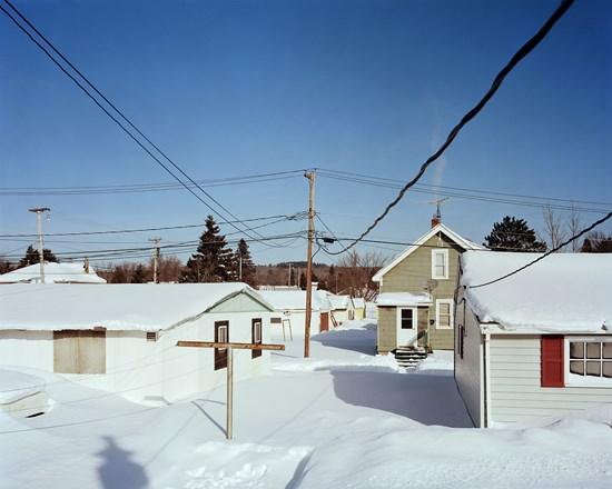 Backyard, Biwabik, Minnesota, February, 2014