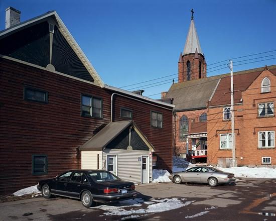 Parking Lot, Calumet, Michigan, March, 2015