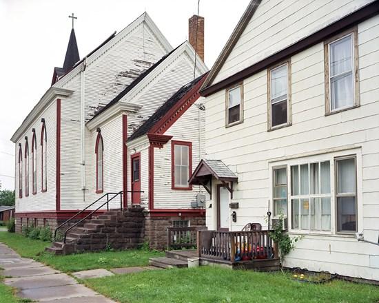 3rd Street, Ashland, Wisconsin, July, 2013