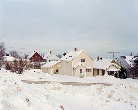 Houses, Gilbert, Minnesota, February, 2014