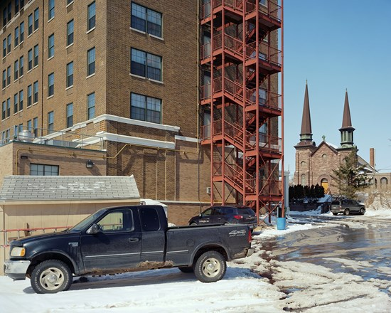 Landmark Inn, Marquette, Michigan, March, 2014