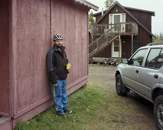 Pete, Copper Harbor, Minnesota, October, 2012