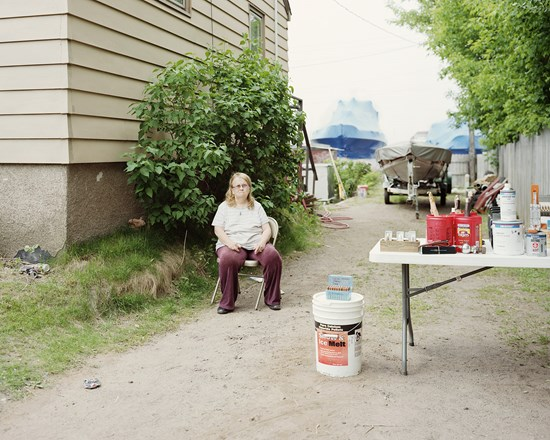 Park Point Rummage Sale, Duluth, Minnesota, June 2012