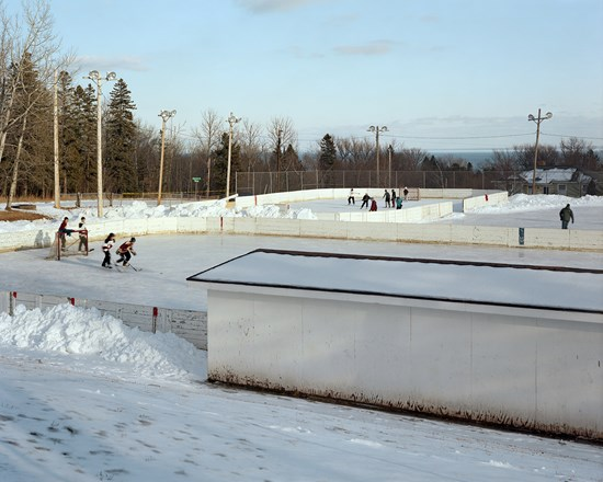 Hockey Rinks, Duluth, Minnesota, January 2012