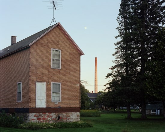 Moonrise, Gay, Michigan, August, 2016