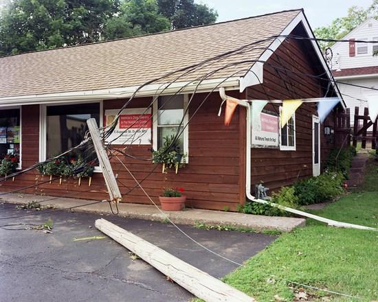 Wind Damage (Dog Food Bakery), Duluth, Minnesota, July, 2016