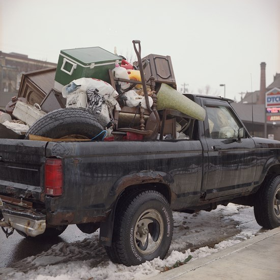 Truck Full Of Junk, Duluth, Minnesota, November 2016