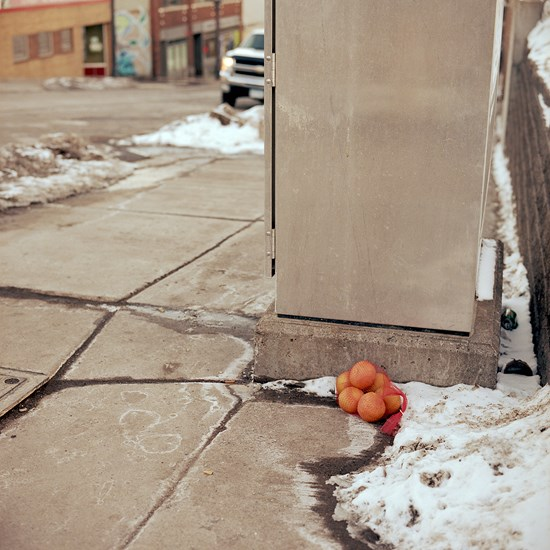 Forgotten Oranges, Duluth, Minnesota, February 2016