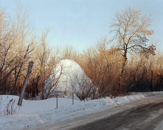 Orange Street Ice Formation, Duluth, Minnesota, January 2017
