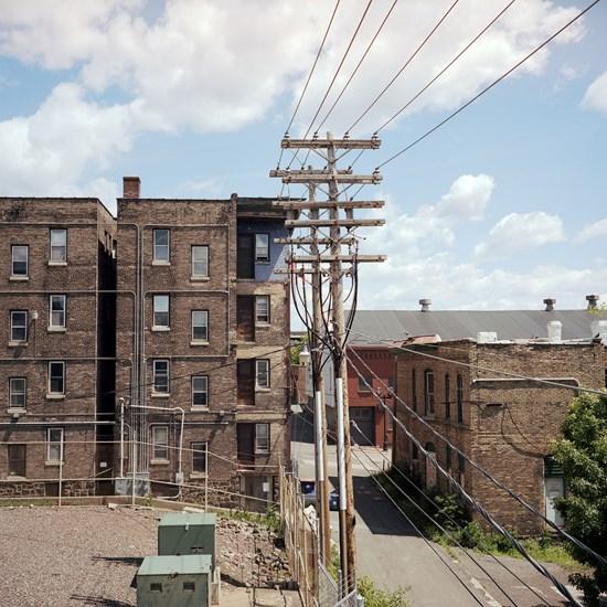 Back alley Duluth, Duluth, Minnesota, July 2017