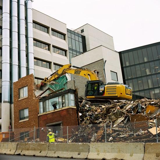 St. Mary's Demolition, Duluth, Minnesota, September 2013