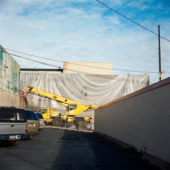 Scottish Rite Clinic Construction, Duluth, Minnesota, November 2015