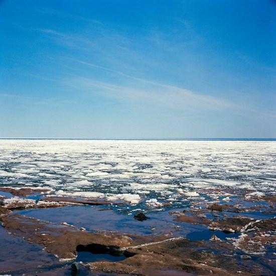 Lake Superior Ice Melt, Duluth, Minnesota, April 2014