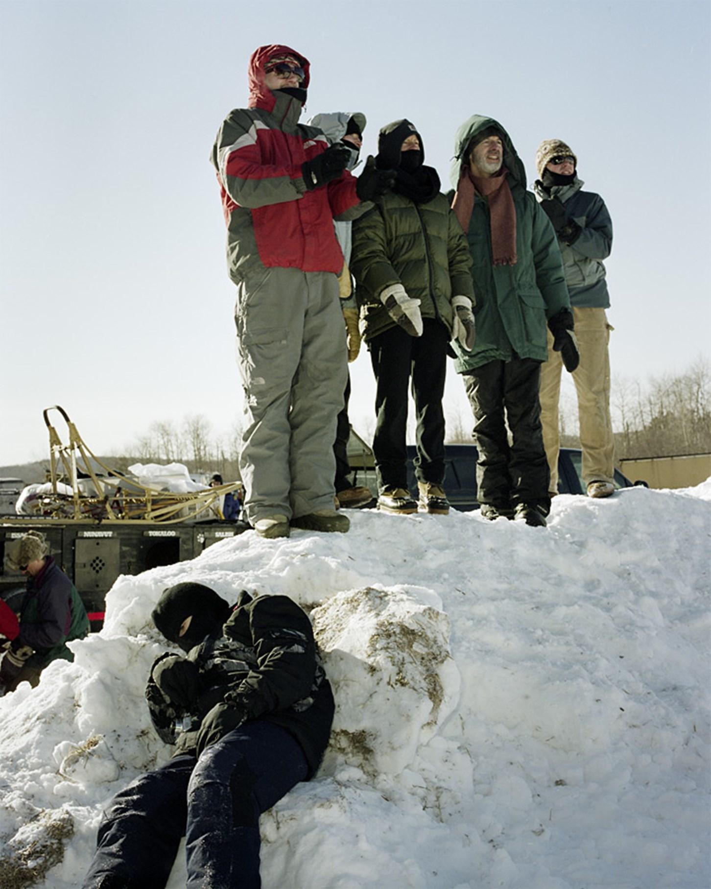 Dead Boy in The Snow, January 2010