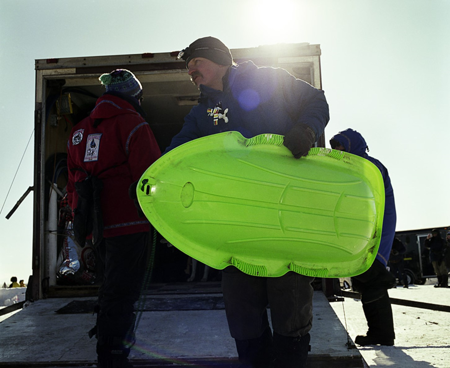 Green Sled, January 2010