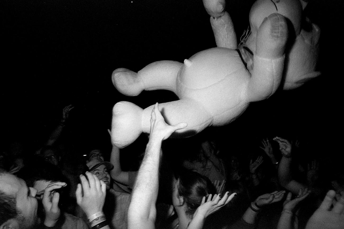 Stuffed Monkey Surfs [Living], May 2013