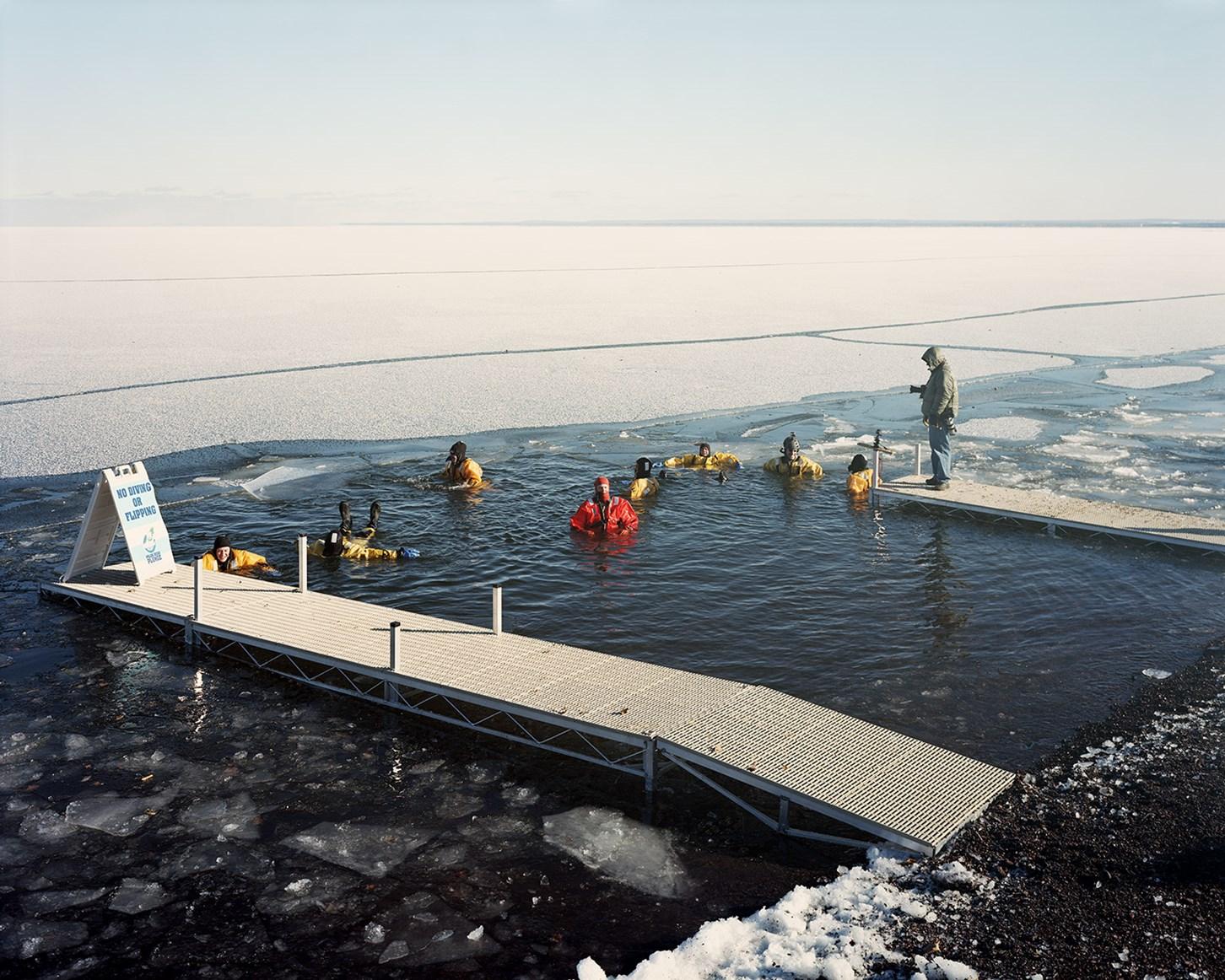 Polar Plunge Safety Crew, Duluth, Minnesota, February 2013
