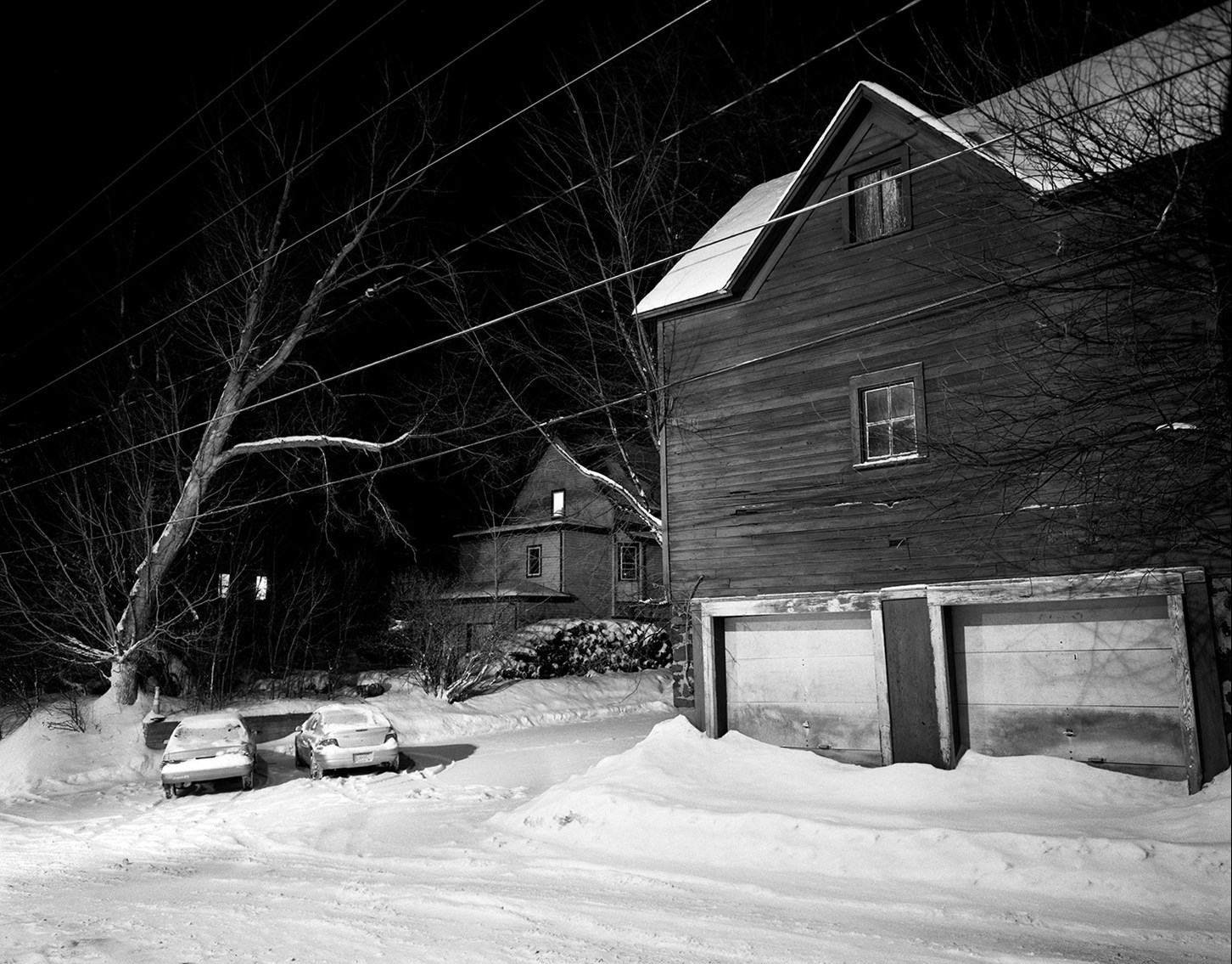 Alleyway Behind East 1st Street, Duluth, Minnesota, January 2011