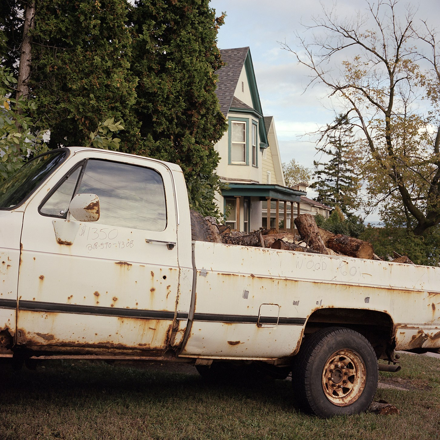 Rusty Truck For Sale, Duluth, Minnesota, August 2013