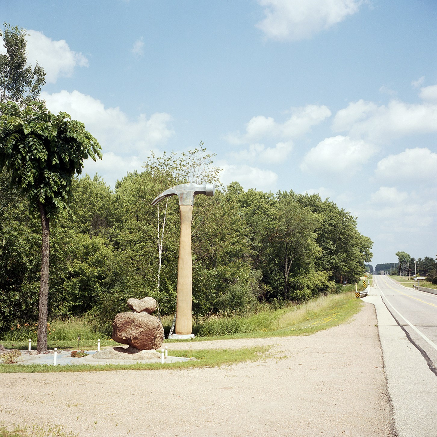 A Giant Hammer, Hogarty, Wisconsin, July 2015