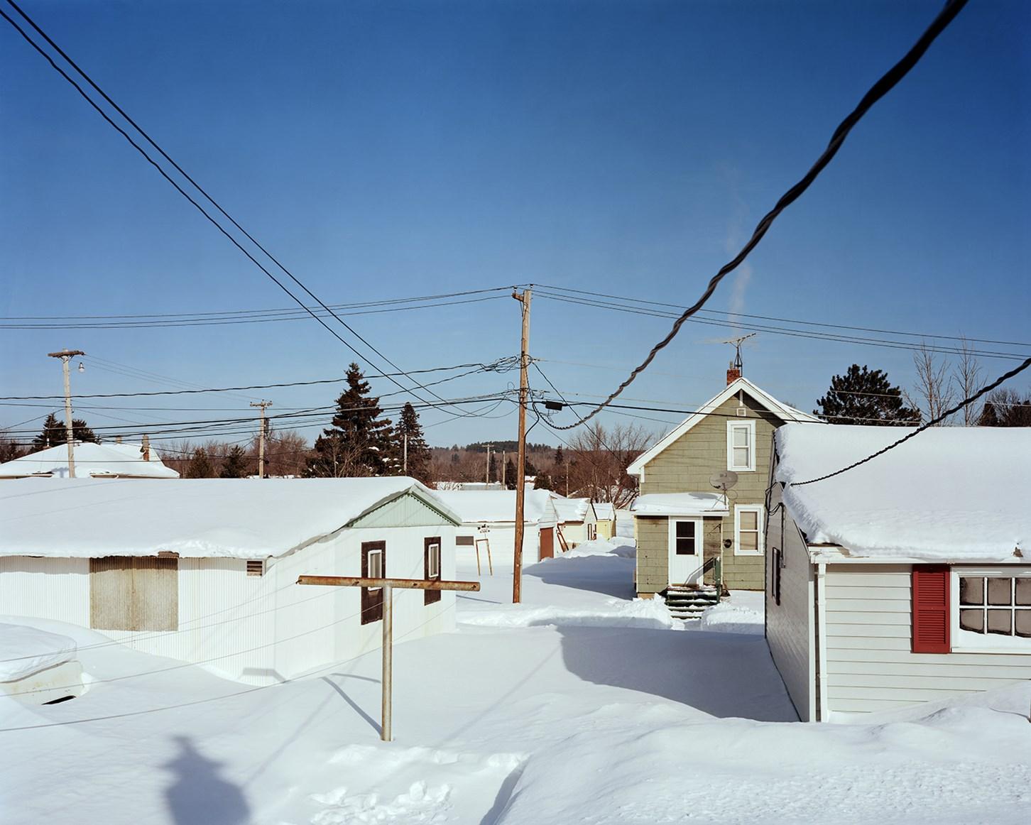 Backyard, Biwabik, Minnesota, February 2014