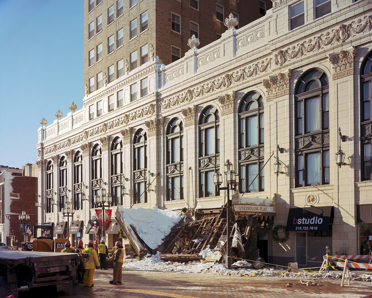 Greysolon Plaza Collapse, Duluth, Minnesota, December 2013