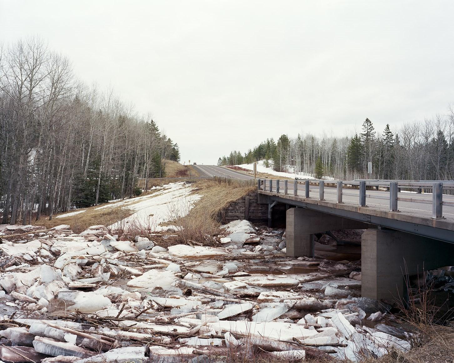 Ice Jam, Superior, Wisconsin, April 2014