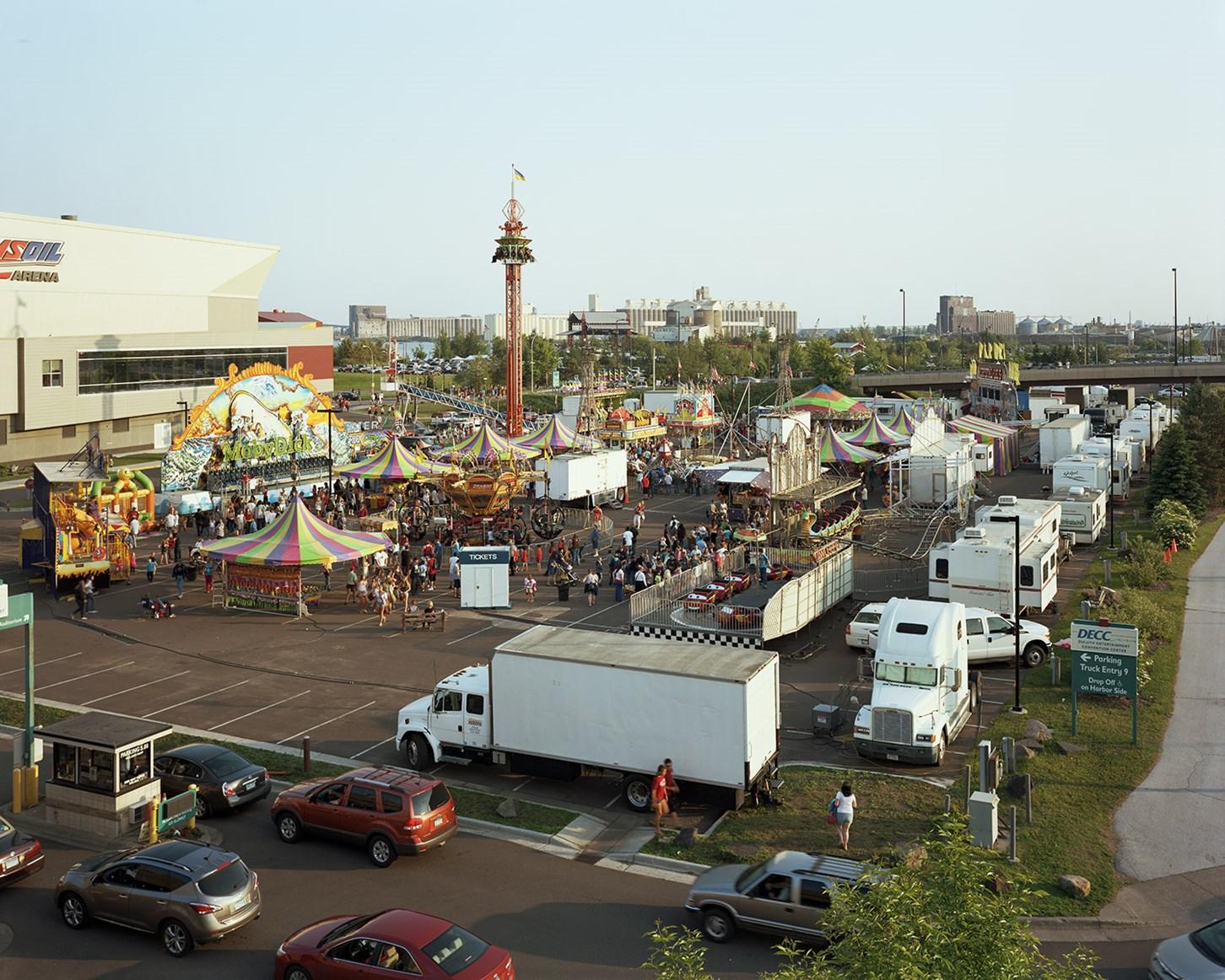 Thomas Carnival, Duluth, Minnesota, July 2013