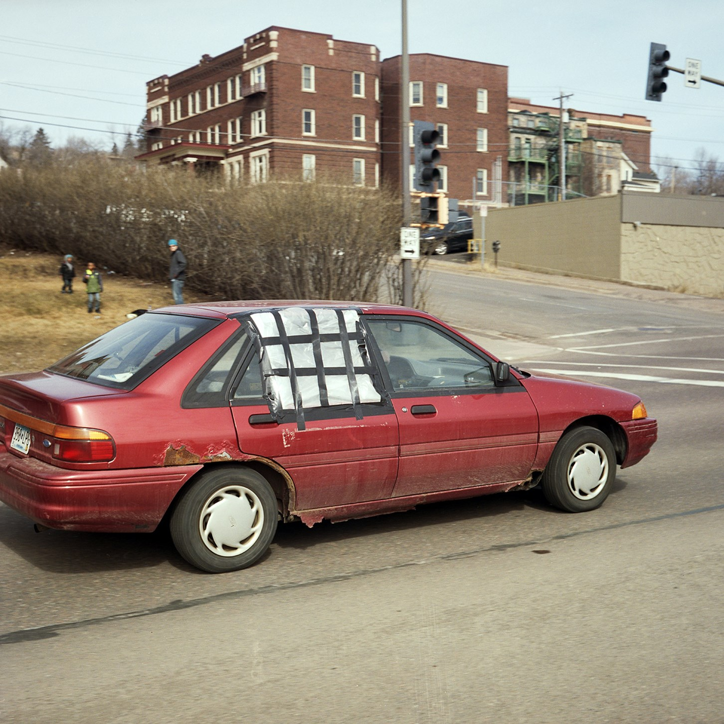Passing Car With Plastic Window, Duluth, Minnesota, March 2017