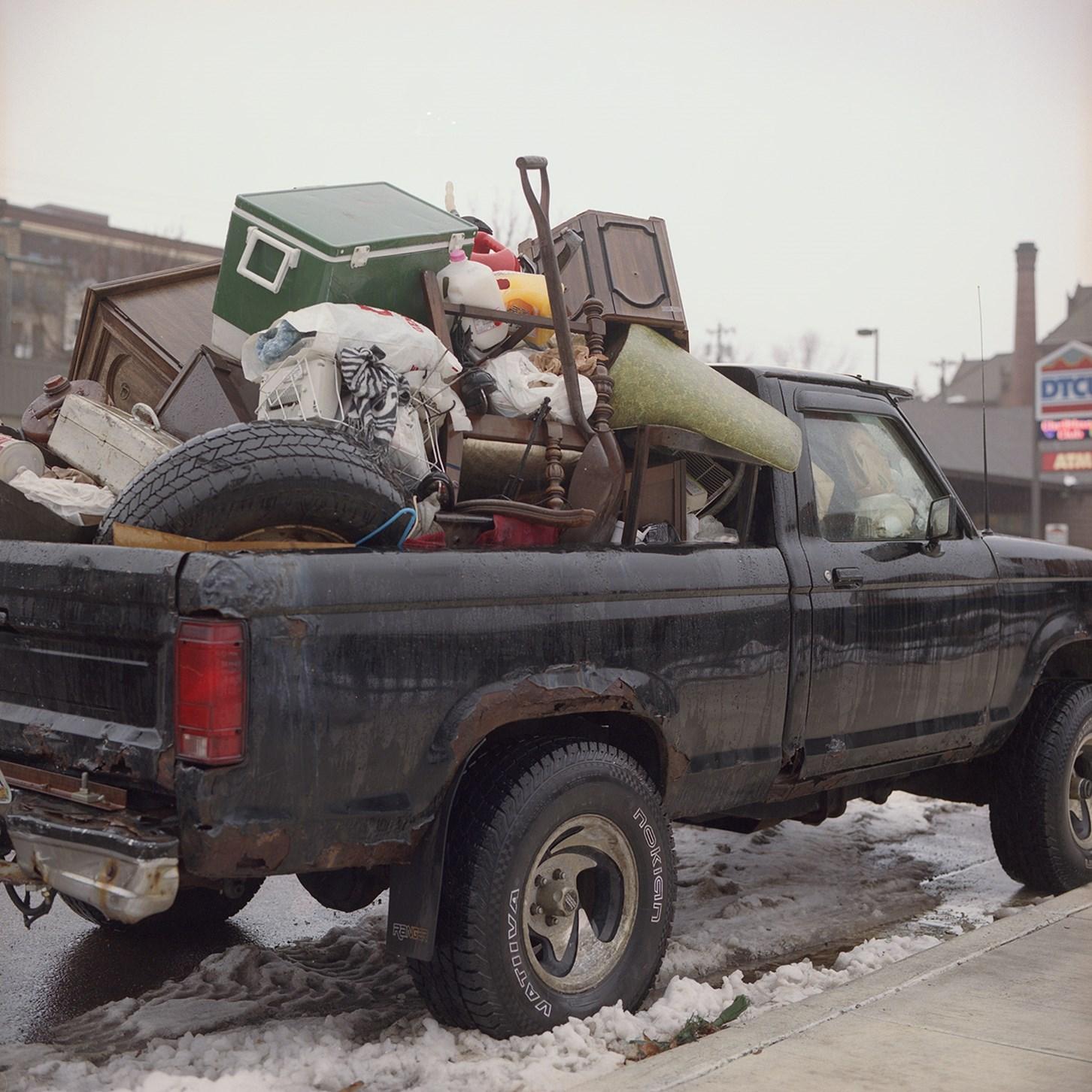 Truck Full Of Junk, Duluth, Minnesota, November 2016