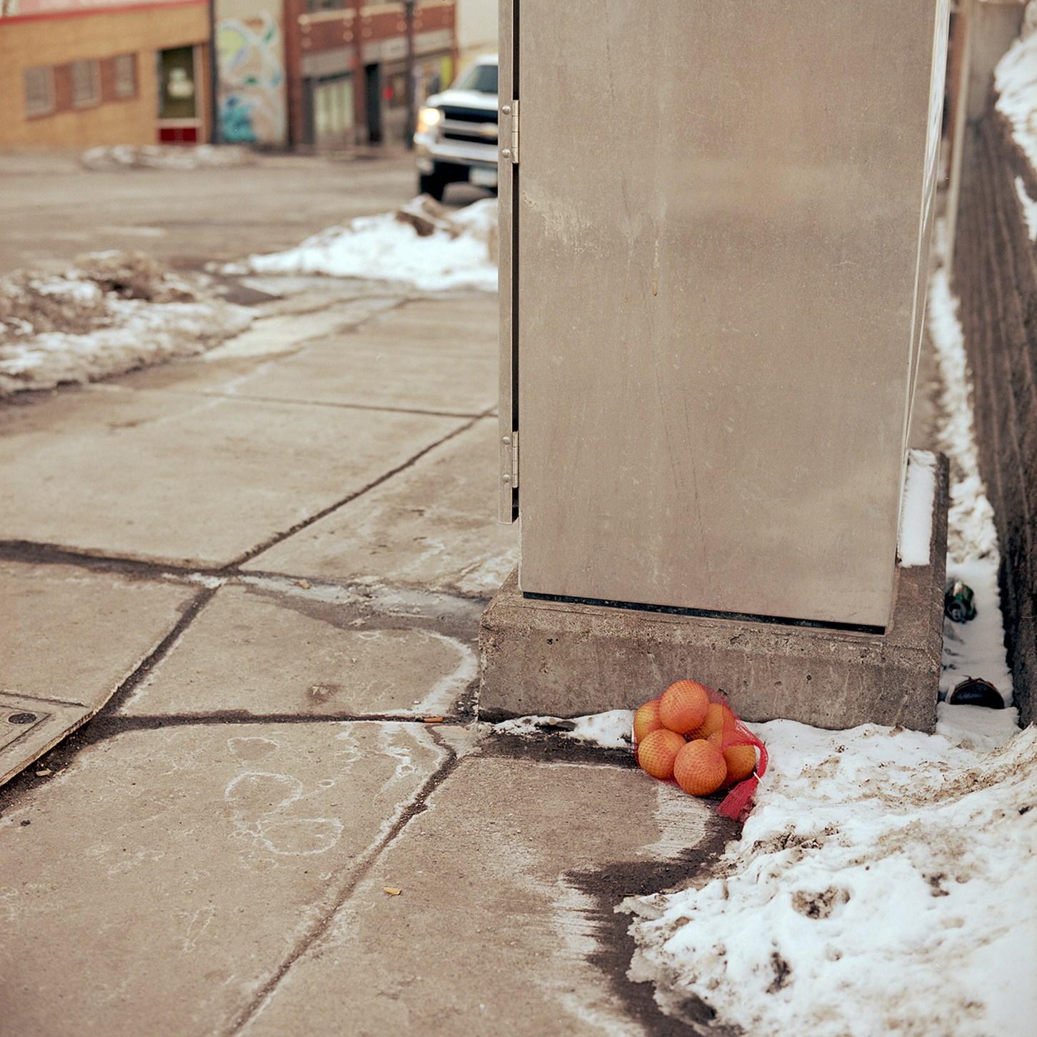 Forgotten Oranges, Duluth, Minnesota, February 2016
