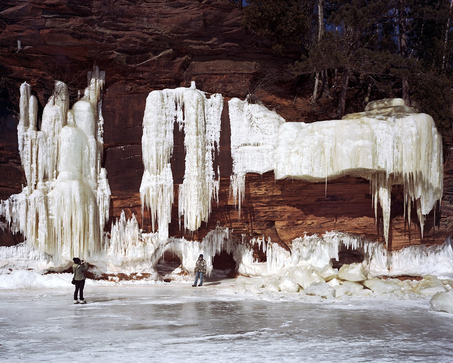 Ice Caves, Bayfield, Wisconsin, February 2015
